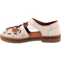 Chaussures Femme Sandales et Nu-pieds Coco & Abricot V1818H-SABAL Blanc