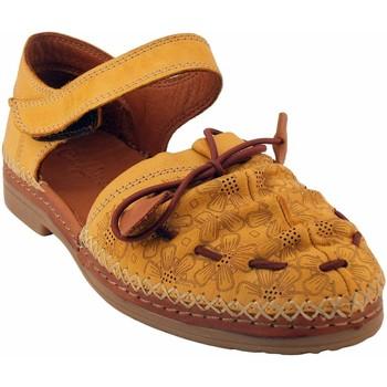 Chaussures Femme Sandales et Nu-pieds Coco & Abricot V1818H-SABAL Jaune