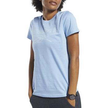 Vêtements Femme T-shirts manches courtes Reebok Sport FK6737 Bleu