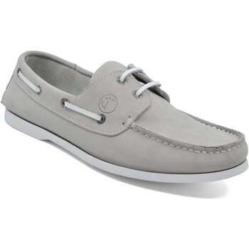 Chaussures Homme Chaussures bateau Seajure Chaussures Bateau Unawatuna Gris clair