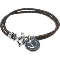 Montres & Bijoux Homme Bracelets Seajure Bracelet Miyako Marron
