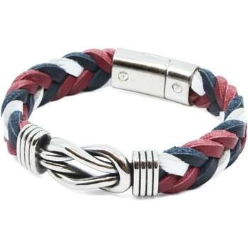 Montres & Bijoux Homme Bracelets Seajure Bracelet Milos Bleu marine, blanc et rouge