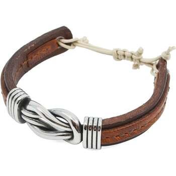 Montres & Bijoux Homme Bracelets Seajure Bracelet Capri Marron