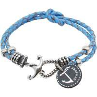 Montres & Bijoux Homme Bracelets Seajure Bracelet Palawan Bleu