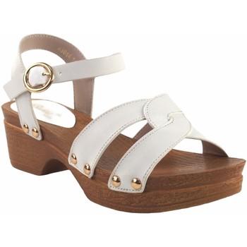 Chaussures Fille Sandales et Nu-pieds Bubble Bobble Sandale fille  A3014 blanc Blanc