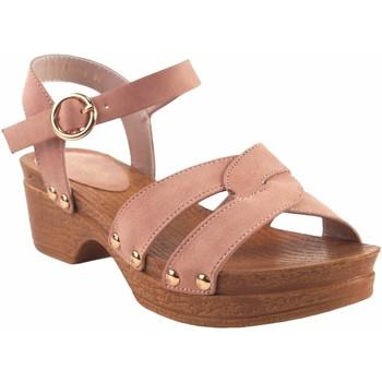 Chaussures Fille Sandales et Nu-pieds Bubble Bobble Sandale fille  A3014 rose Rose
