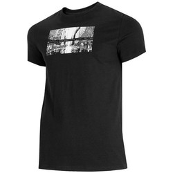 Vêtements Homme T-shirts manches courtes 4F TSM025 Noir