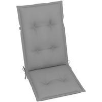 Maison & Déco Galettes de chaise VidaXL Coussin de chaise de jardin 120 x 50 x 7 cm Gris