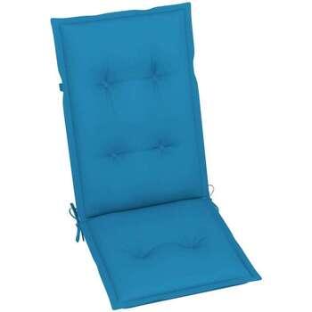 Maison & Déco Galettes de chaise VidaXL Coussin de chaise de jardin 120 x 50 x 7 cm Bleu