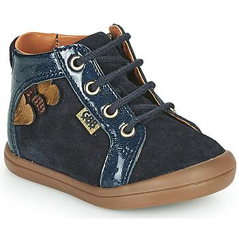 Chaussures Fille Baskets montantes GBB PRUNE Bleu