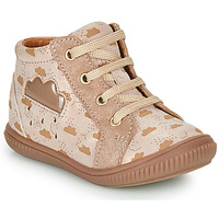 Chaussures Fille Baskets montantes GBB MASHA Beige