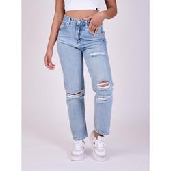 Vêtements Femme Jeans boyfriend Project X Paris Jean Bleu clair