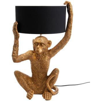 Maison & Déco Lampes à poser Le Monde Des Animaux Lampe de table Singe 57 cm Doré