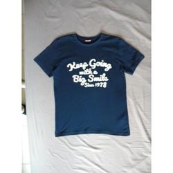 Vêtements Garçon T-shirts manches courtes A-style t-shirt garçon Bleu