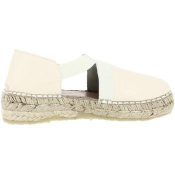 Chaussures Femme Espadrilles La Maison De L'espadrille ESPADRILLE ELASTIQUES Blanc