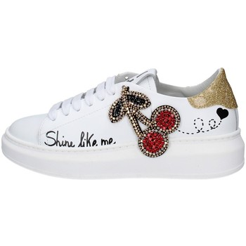 Chaussures Femme Baskets basses Gio + G23A BLANC