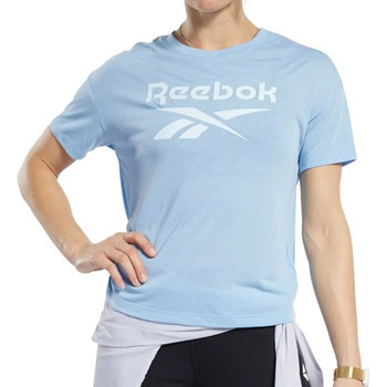Vêtements Femme T-shirts manches courtes Reebok Sport FK6856 Bleu
