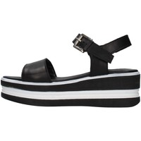 Chaussures Femme Sandales et Nu-pieds Pregunta PQ6603661 NOIR