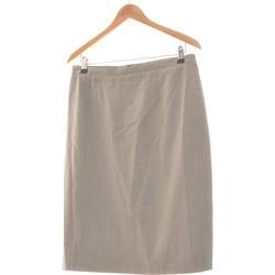 Vêtements Femme Jupes Damart Jupe Mi Longue  46 - T6 - Xxl Gris