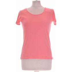 Vêtements Femme Tops / Blouses Burton Top Manches Courtes  36 - T1 - S Rose