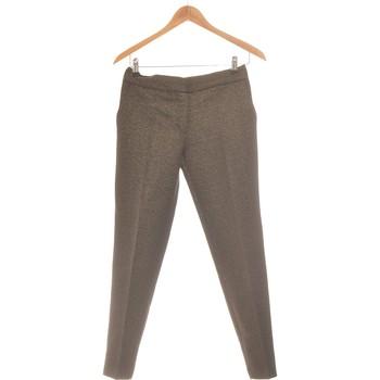 Vêtements Femme Pantalons Sinequanone Pantalon Droit Femme  36 - T1 - S Noir