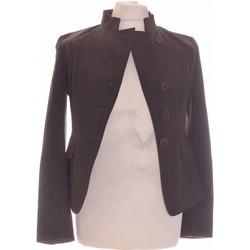 Vêtements Femme Vestes / Blazers Manoukian Blazer  38 - T2 - M Gris