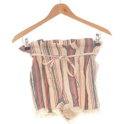 Vêtements Femme Shorts / Bermudas Bershka Short  36 - T1 - S Beige