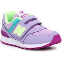 Chaussures Enfant Running / trail New Balance PV574BVM fioletowy, zielony