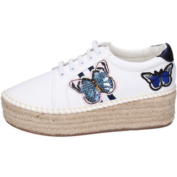 Chaussures Femme Espadrilles Greenhouse Polo Club BH109 Blanc