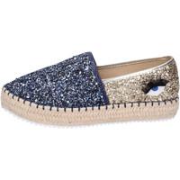 Chaussures Femme Espadrilles Greenhouse Polo Club BH112 Bleu