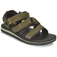 Chaussures Homme Coton Du Monde Teva M Cross Strap Trail DARK OLIVE Kaki
