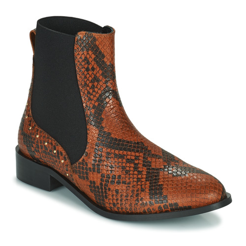 Chaussures Femme Boots JB Martin ANGE Marron