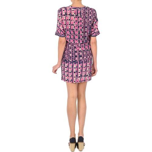 YRO059  Stella Forest  robes courtes  femme  marine/rose