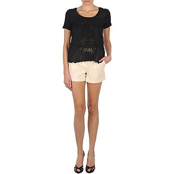 Vêtements Femme Shorts / Bermudas Stella Forest YSH003 Ecru
