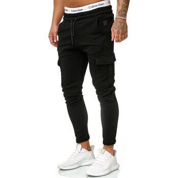 Vêtements Homme Projet dintroduction en bourse Cabin Pantalon jogging homme Jogging R-1213 noir Noir