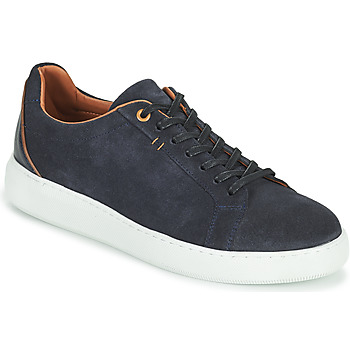 Chaussures Homme Baskets basses Pellet OSCAR Bleu