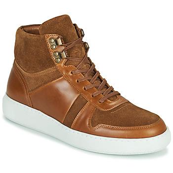 Chaussures Homme Baskets montantes Pellet ODIN Marron