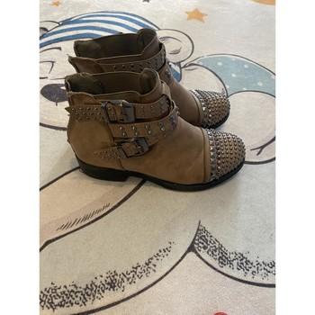 Chaussures Femme Bottines Aucune Bottines marron Marron
