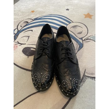 Chaussures Femme Derbies Suredelle Derbies noir Noir