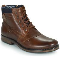 Chaussures Homme Boots Redskins NOYANT Cognac