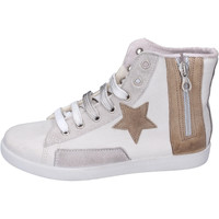 Chaussures Fille Baskets montantes Happiness BH131 Blanc
