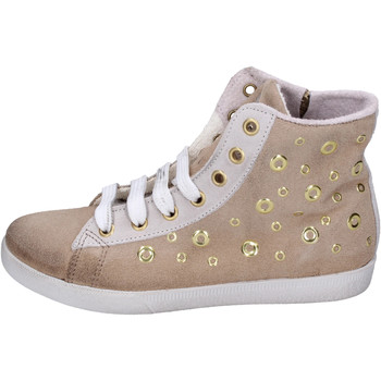 Chaussures Fille Baskets montantes Happiness BH134 Beige