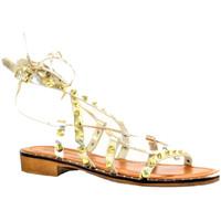 Chaussures Femme Sacs de voyage Donna Lucca CORALIE PLATINE OR