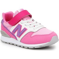 Chaussures Fille Baskets basses New Balance YV996MPP różowy, biały, fioletowy