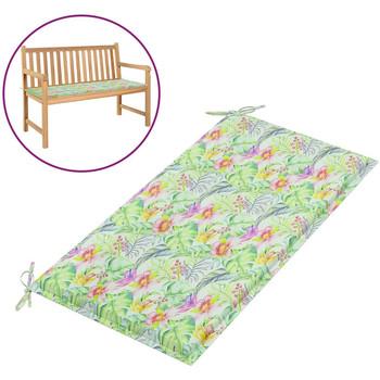 Maison & Déco Galettes de chaise VidaXL Coussin de banc 100 x 50 x 4 cm Multicolore
