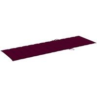 Maison & Déco Galettes de chaise VidaXL Coussin de chaise longue 200 x 70 x 4 cm Rouge