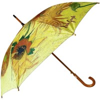 Accessoires textile Parapluies Muzeum Grand Parapluie Van Gogh Jaune