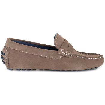 Chaussures Homme Mocassins J.bradford JB-BILL TAUPE Marron