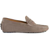 Chaussures Homme Mocassins J.bradford JB-CENTRAL TAUPE Marron