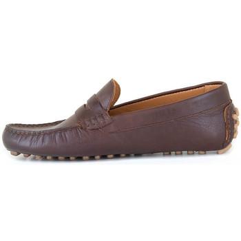 Chaussures Homme Mocassins J.bradford JB-COAST MARRON Marron